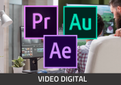 DIPLOMADO - PRODUCCION DE VIDEO DIGITAL CC CON CERTIFICACION OFICIAL ADOBE